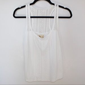 Hollister Lace Tank Top (Never Been Worn!)